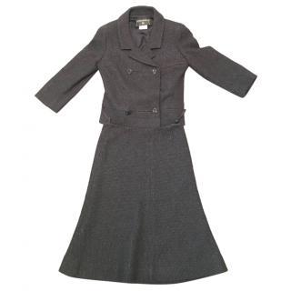 Vintage Navy/black Chanel suit