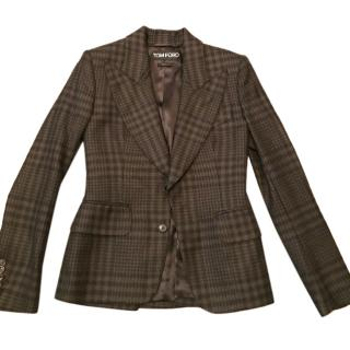 Tom Ford Brown Wool  Blazer