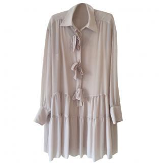 See by Chloe blush silk dress