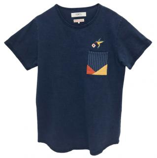 F.D.M.T.L Embroidered Cotton T-Shirt