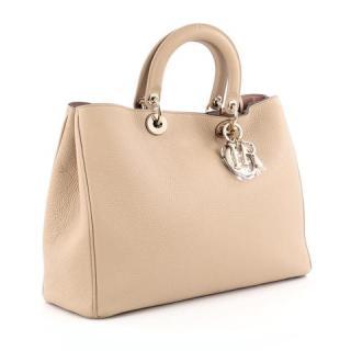 Christian Dior Beige Diorissimo Bag