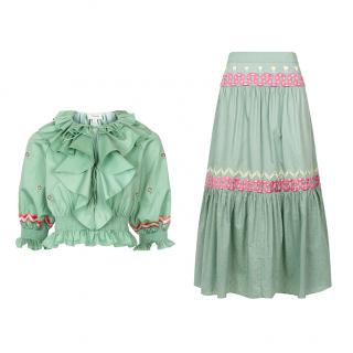 Temperley London Spellbound Skirt and Top Set