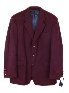Gant wool and cashmere collage blazer
