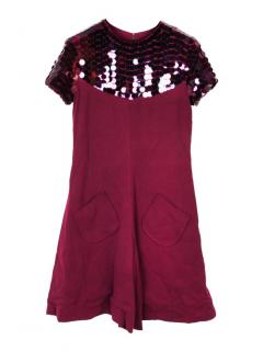 Just Cavalli one piece shorts & top/playsuit with payette sequins