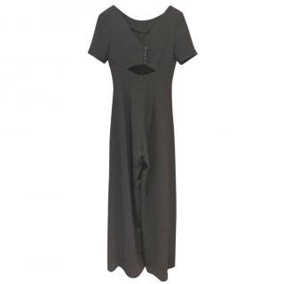 Eponine Black Bespoke Jumpsuit
