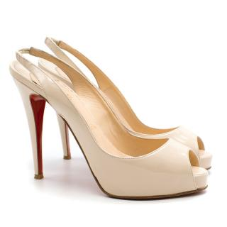 Christian Louboutin Private Number 120 Patent Pumps