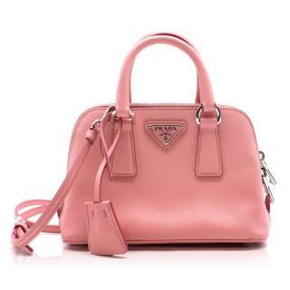 Prada Leather Mini Promenade Bag