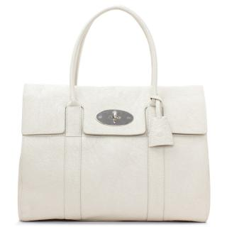 Mulberry Snowball Grained Leather Bayswater Bag