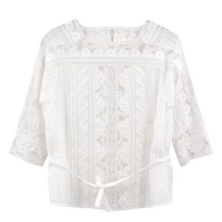 Vanessa Bruno Lace Blouse
