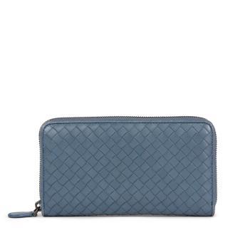 Bottega Veneta Tourmaline  Zip Around Wallet