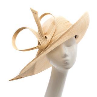 Philip Treacy Wide Brim Straw Hat