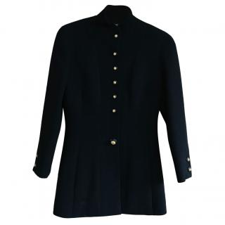 Chanel Black Vintage Wool Jacket