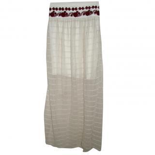 Alice by Temperley lace skirt with cummerbund