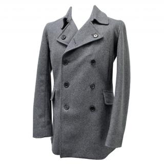 Paul Smith Wool Mens Pea Coat