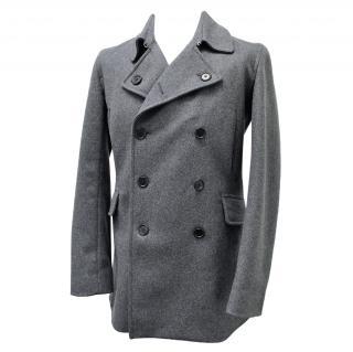 Paul Smith Wool Mens Pea Coat
