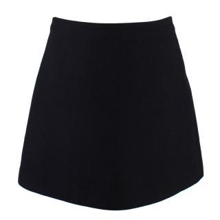 Stella McCartney Wool A-Line mini skirt