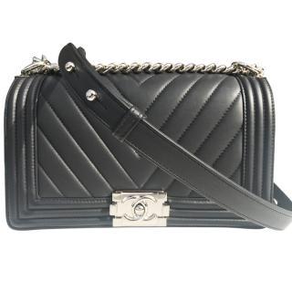 Chanel Chevron Boy Bag
