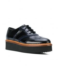 Tod's Flatform Wingtip Shoes