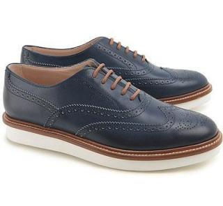 Tod's Navy Oxford shoes
