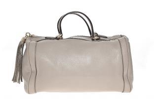 Gucci Grey Boston Soho Bag