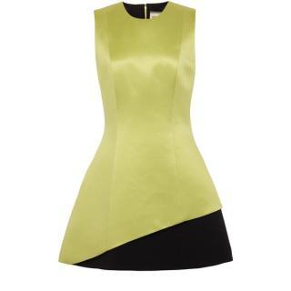 Fausto Puglisi Silk A-line mini dress