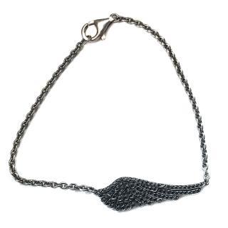 Garrard Black Diamond Wing Bracelet