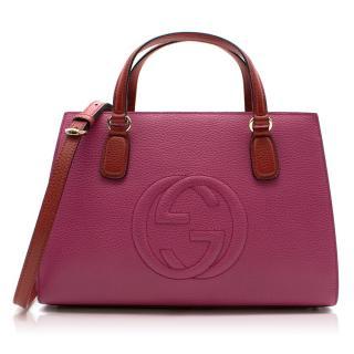 Gucci Soho bicolour top handle bag