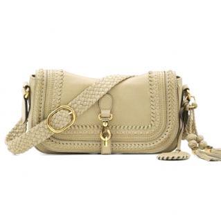 Gucci horsebit braided shoulder bag
