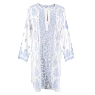 Juliet Dunn hand embroidered kaftan