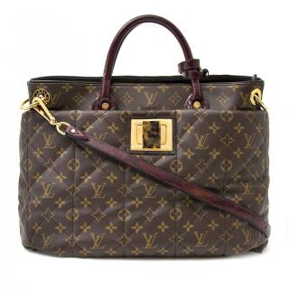 Louis Vuitton etoile ostrich and python monogram tote bag