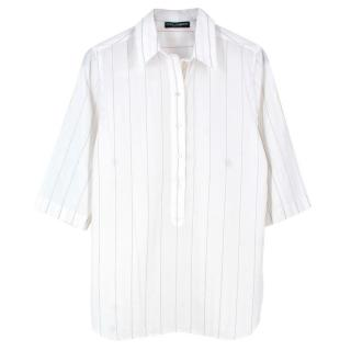 Dolce & Gabbana cotton pin striped shirt