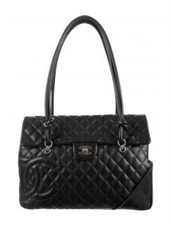 Chanel Paris classic flap jumbo cambon bag