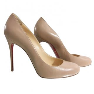 Christian Louboutin 100mm Round Toe Pumps