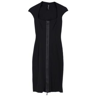 Josh Goot Double Zip Midi Fitted Pencil Dress