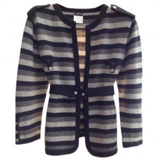 Chanel Cashmere Cardigan Knit Style Jacket