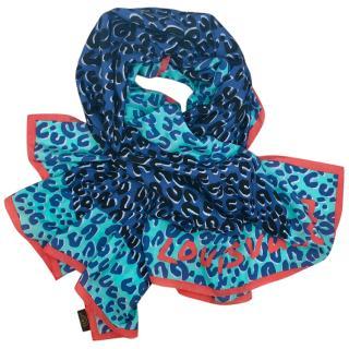 Louis Vuitton Silk Printed Scarf