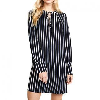 Diane Von Furstenberg Keyhole Shirt Dress