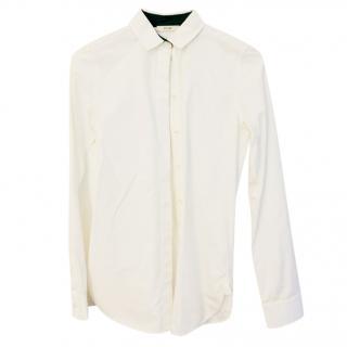 Celine crisp white shirt