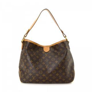 Louis Vuitton Delighful PM Brown Monogram Shoulder Bag