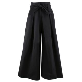 Temperley 'Blueberry Tailoring Ruffle' Culottes