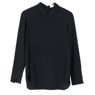 Stella McCartney Long Sleeve Silk Blouse