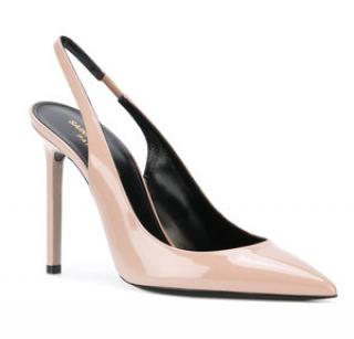 Saint Laurent Anja 105 Slingback pumps