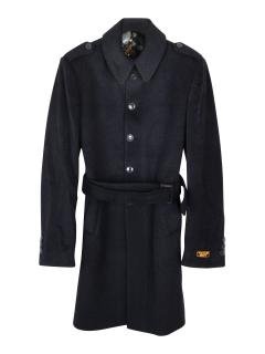 William Hunt Savile Row wool and cashmere blend coat