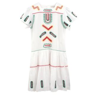 Stella McCartney embroidered dress