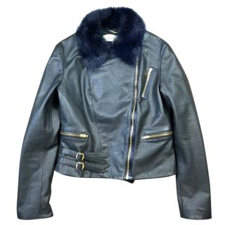 Paul Smith Mainline Leather Biker Jacket