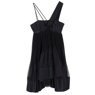 Prada Silk Pleated Dress