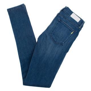 Tabitha Webb Denim Blue Distressed Skinny Jeans