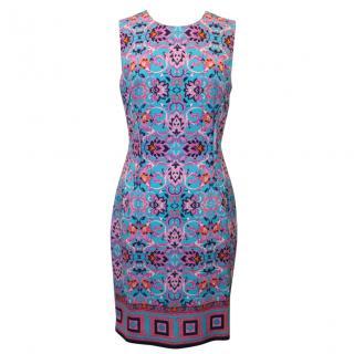 Versace Floral Printed Dress