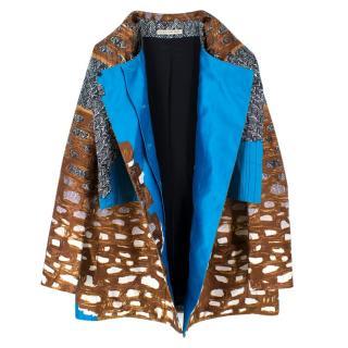 Balenciaga Paris Printed Jacket