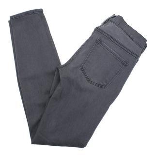Frame Le Skinny de Jeanne ripped jeans